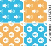 loudspeaker pattern set  simple ...