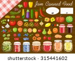 set of fruit and vegetables for ... | Shutterstock .eps vector #315441602