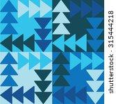 decorative vector poster... | Shutterstock .eps vector #315444218