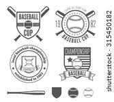 set of vintage logo  badge ...   Shutterstock .eps vector #315450182