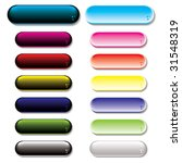 collection of colorful gel... | Shutterstock . vector #31548319