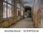Corridor With Windows And...
