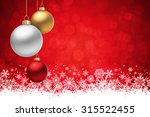 A Red Christmas Background ...