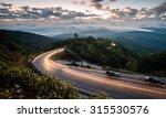 view point mist sunrise in... | Shutterstock . vector #315530576