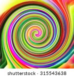 bright abstract spiral for... | Shutterstock . vector #315543638