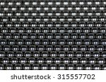 background made of iron balls... | Shutterstock . vector #315557702
