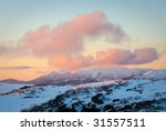 Sunset Over Mt Bogong  The...