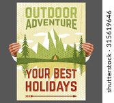 your best outdoor holiday... | Shutterstock . vector #315619646