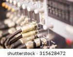 control audio panel. | Shutterstock . vector #315628472