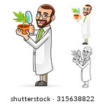 high quality plant scientist... | Shutterstock .eps vector #315638822