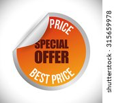 special offer concept label...   Shutterstock .eps vector #315659978