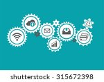 business mechanism concept....   Shutterstock .eps vector #315672398