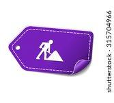 under construction violet... | Shutterstock .eps vector #315704966