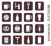 beer vector icons set   Shutterstock .eps vector #315720188