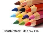 colored pencils  | Shutterstock . vector #315762146