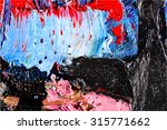 abstract painting fragment...