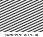 chrome bars with perspective... | Shutterstock . vector #31578040