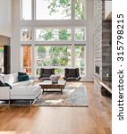 beautiful living room with... | Shutterstock . vector #315798215
