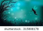 Deep Fairy Forest Silhouette...