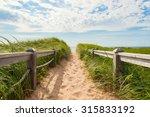 Path To The Beach At Basin Head ...