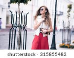 beautiful girl posing | Shutterstock . vector #315855482