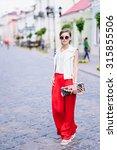 beautiful girl posing | Shutterstock . vector #315855506