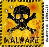 computer virus infection... | Shutterstock .eps vector #315862286