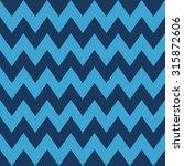 seamless navy blue basic zigzag ... | Shutterstock . vector #315872606