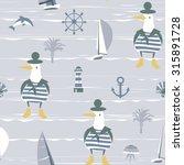 children's marine vector... | Shutterstock .eps vector #315891728