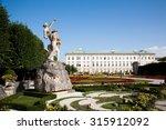 Mirabell Palace Salzburg...