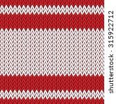 seamless knitted pattern.woolen ... | Shutterstock .eps vector #315922712