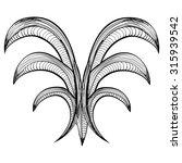 baroque element illustration   Shutterstock .eps vector #315939542