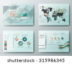 brochure design templates ... | Shutterstock .eps vector #315986345