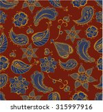 indian doodle vector elements... | Shutterstock .eps vector #315997916