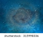 universe filled with stars ... | Shutterstock . vector #315998336