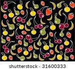 fruit background  vector... | Shutterstock .eps vector #31600333