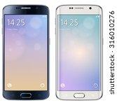 smartphone  mobile phone... | Shutterstock .eps vector #316010276