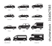 car type and model objects... | Shutterstock .eps vector #316067585