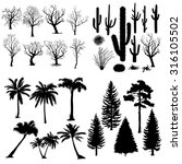 Vector Big Set Of Trees And...