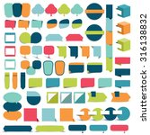collections of infographics... | Shutterstock .eps vector #316138832