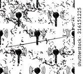 signal beacon pattern  grunge ...