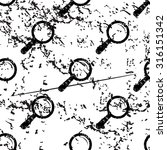 magnifying glass pattern