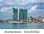 panorama of dar es salaam city... | Shutterstock . vector #316153562