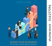 Growing Business Infographics...