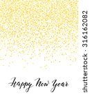 new year card or invitation... | Shutterstock .eps vector #316162082