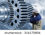 industry worker  engineer... | Shutterstock . vector #316170806