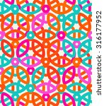 vector geometric pattern with... | Shutterstock .eps vector #316177952