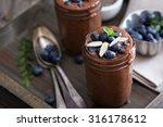 healthy vegan chocolate chia... | Shutterstock . vector #316178612