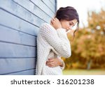 beautiful natural young... | Shutterstock . vector #316201238
