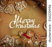 christmas cakes | Shutterstock . vector #316220456